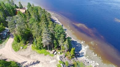 Terrain bord de l'eau à vendre Saguenay