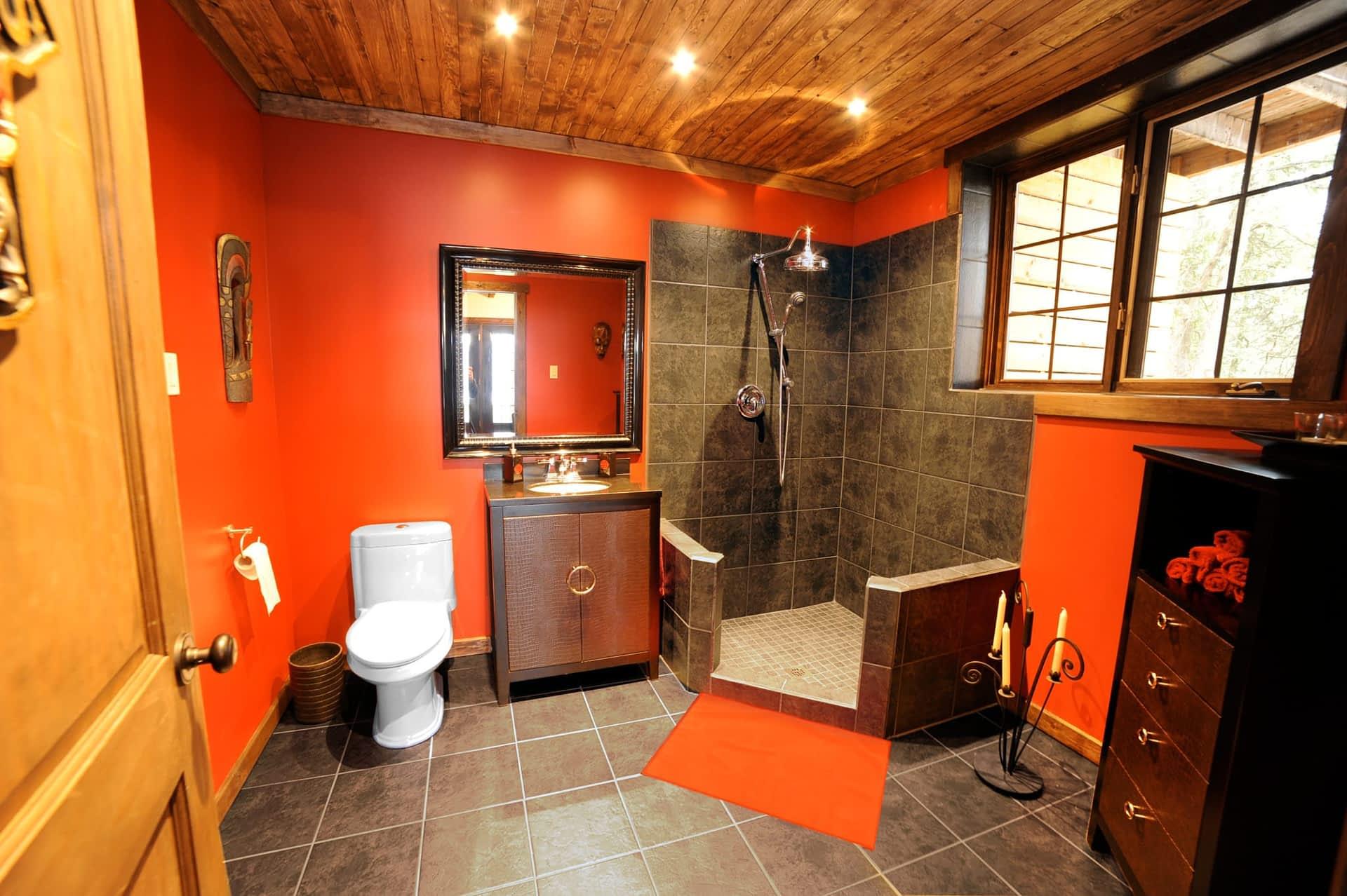 Salle de bain du sous-sol